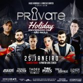 PRIVATE HOLIDAY 25.01.2018